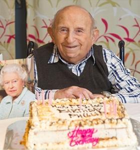 Philip Rochman celebrates his 100th Birthday
